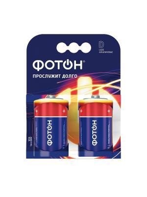 Элемент питания ФОТОН LR20 КP2. Цвет: синий