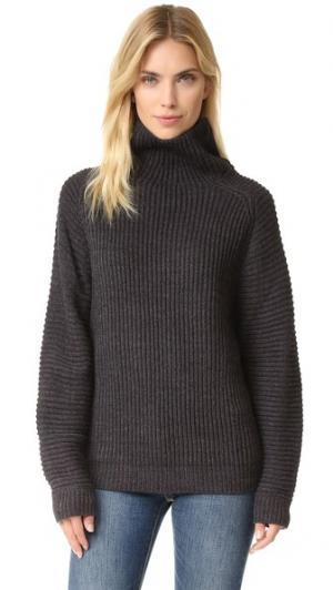 Вязаный свитер Ace FAITHFULL THE BRAND. Цвет: серый