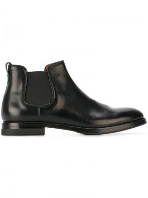 Классические ботинки Челси W.Gibbs. Цвет: чёрный