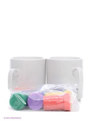 Набор для раскрашивания Любимая чашка GENIO KIDS. Цвет: белый