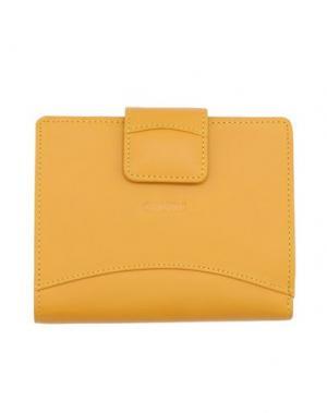 Бумажник GIUDI. Цвет: желтый