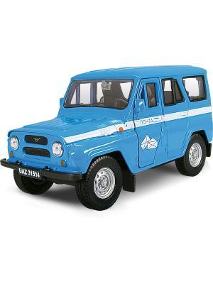 Машина UAZ 31514 почта AUTOTIME. Цвет: голубой