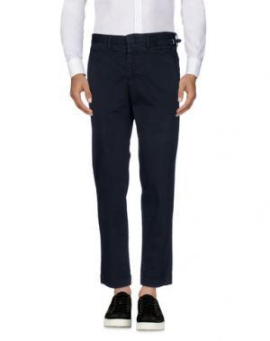 Повседневные брюки GAZZARRINI. Цвет: темно-синий
