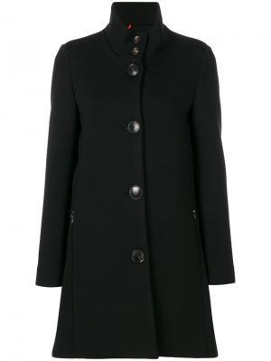 Однобортное пальто Rrd. Цвет: чёрный