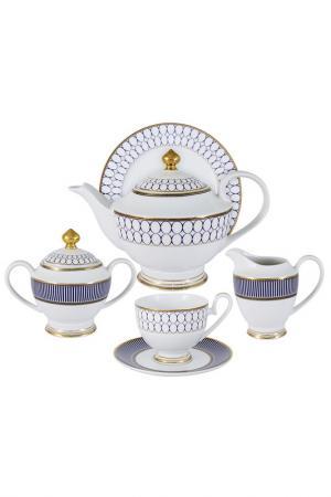 Чайный сервиз Адмиралтейский Midori. Цвет: мультиколор