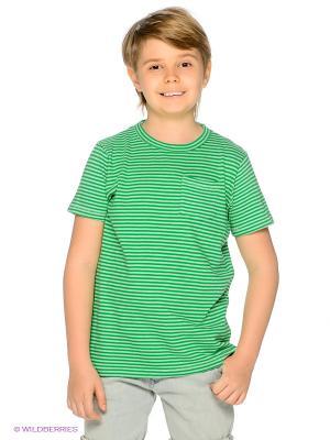 Футболка American Outfitters. Цвет: зеленый, светло-зеленый