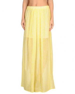 Пляжное платье PATRIZIA PEPE BEACHWEAR. Цвет: желтый