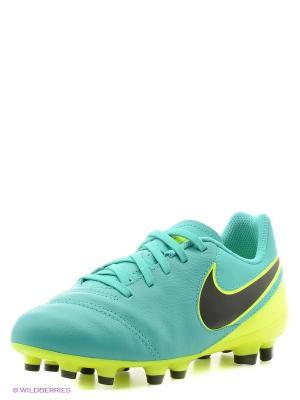 Бутсы JR TIEMPO LEGEND VI FG Nike. Цвет: зеленый