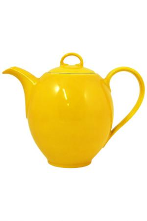 Кофейник KAHLA. Цвет: желтый