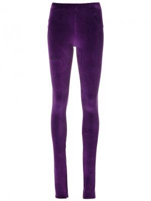 Slim fit leggings Barbara Bologna. Цвет: розовый и фиолетовый