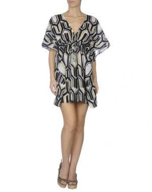 Пляжное платье ECHO. Цвет: черный