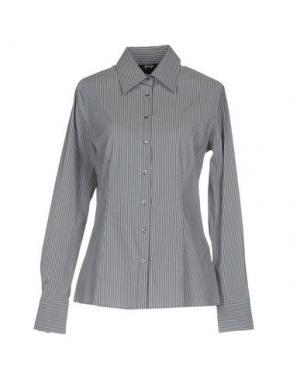 Pубашка GOSSIP. Цвет: серый