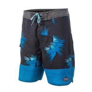 Шорты пляжные RIP CURL. Цвет: черный/ синий
