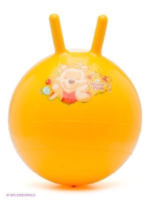 Мяч - попрыгунчик WTP Mondo. Цвет: желтый