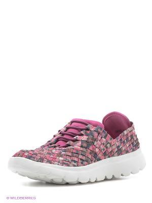 Кроссовки на шнуровке Spur. Цвет: фиолетовый