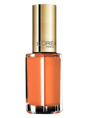 Лак для ногтей Color Riche, оттенок 243, Ты мой мандарин, 5 мл L'Oreal Paris. Цвет: оранжевый