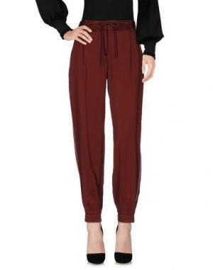 Повседневные брюки ROOM 52. Цвет: красно-коричневый