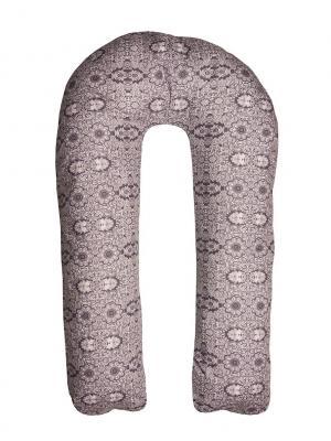 Подушка для беременных Здоровье и комфорт. Цвет: светло-серый