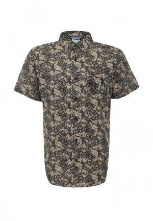 Рубашка Columbia. Цвет: бежевый