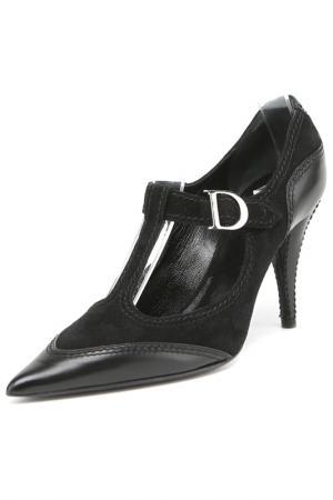 Туфли Dior. Цвет: черный