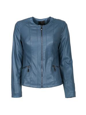 Куртка Snow Guard. Цвет: голубой