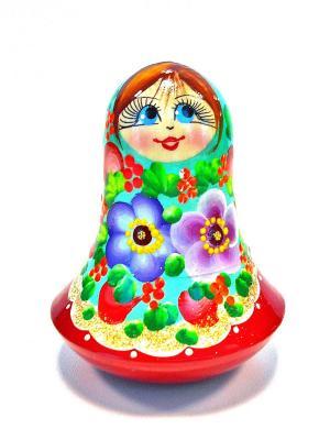 Невалшка музыкальна  - Девочка бирзова в красной бке Taowa. Цвет: красный, бирзовый