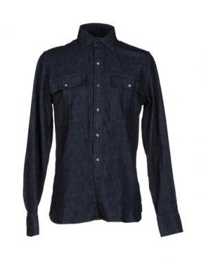 Джинсовая рубашка RICHARD JAMES. Цвет: синий