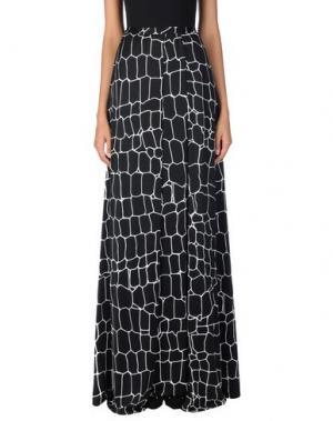 Длинная юбка ISSA. Цвет: черный