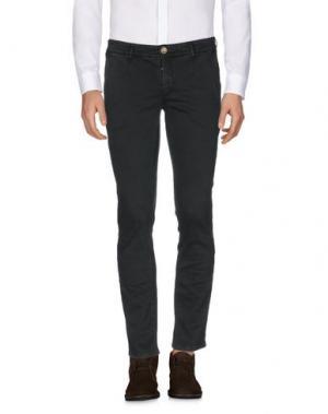 Повседневные брюки JULIAN KEEN. Цвет: темно-зеленый
