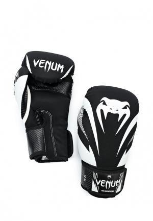 Перчатки боксерские Venum. Цвет: черный