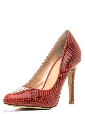 Туфли Dino Ricci. Цвет: красный