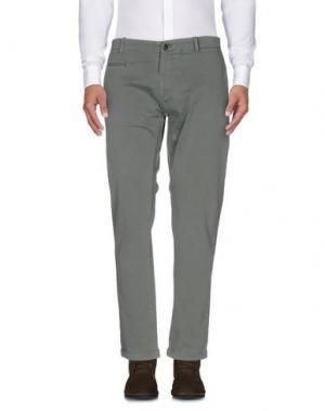 Повседневные брюки ALFONSO RAY. Цвет: зеленый-милитари
