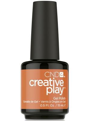 Лак для ногтей CND 91546 Creative Play # 495 (HOLD ON BRIGHT), 13,6 мл (Play Land Collection). Цвет: оранжевый