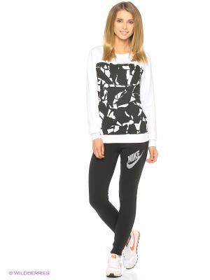 Тайтсы W NSW RALLY PANT TIGHT GX Nike. Цвет: черный, антрацитовый, белый