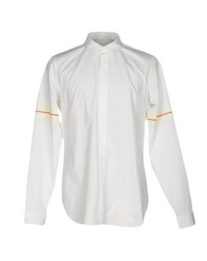 Pубашка CY CHOI. Цвет: белый