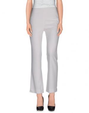 Повседневные брюки NORMALUISA. Цвет: белый