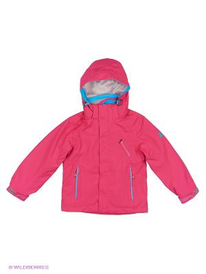 Куртка 3 в 1 High Experience. Цвет: розовый