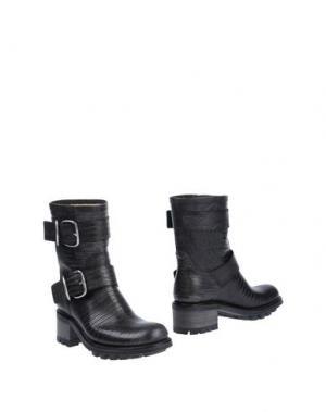 Полусапоги и высокие ботинки FREE LANCE. Цвет: стальной серый