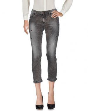 Повседневные брюки FOUDESIR. Цвет: свинцово-серый