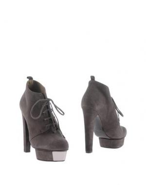 Ботинки ENIO SILLA FOR LE. Цвет: серый