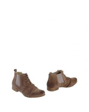 Полусапоги и высокие ботинки JOKER. Цвет: хаки