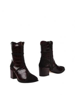 Полусапоги и высокие ботинки GAIA D'ESTE. Цвет: какао