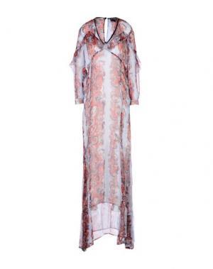 Длинное платье JUST CAVALLI. Цвет: небесно-голубой