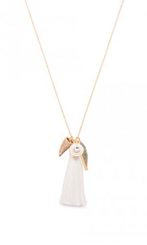 Ожерелье the arrowhead Melanie Auld. Цвет: металлический золотой