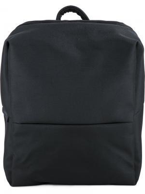 Рюкзак Rhine из ткани EcoYarn Côte&Ciel. Цвет: чёрный