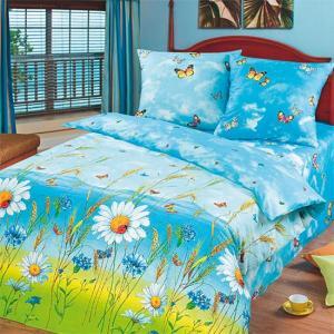 Постельное белье Арт Постель. Цвет: голубой