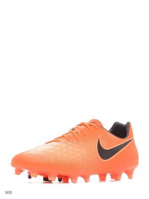 Бутсы MAGISTA ONDA II FG Nike. Цвет: оранжевый