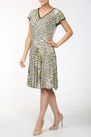 Платье Stizzoli. Цвет: желтый