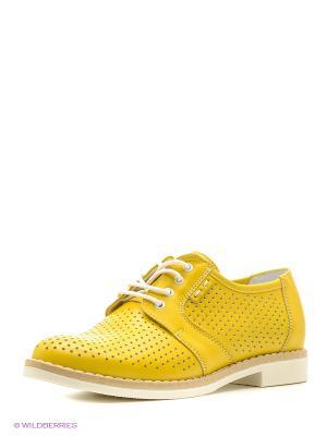 Ботинки BELWEST. Цвет: желтый