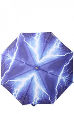 Зонт Moschino. Цвет: синий